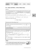 Mathematik, Grenzprozesse & Approximation, Folgen, Reihen, zinsrechnung