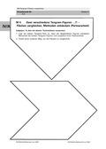 Mathematik, Raum & Form, Flächen, umfang, umfangsberechnung, knobeln