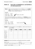 Mathematik, Grundrechenarten, Zahlen & Operationen, Multiplikation, Division, Potenzen, Zehnerpotenzen