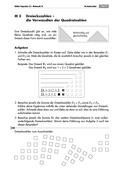 Mathematik, Geometrie, Zahlen & Operationen, Dreieck, geometrische Figuren, Quadratzahlen, Potenzen, Arithmetik, arbeitsblätter