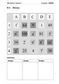 Mathematik, Zahlen & Operationen, Quadratzahlen, Potenzen, Arithmetik
