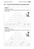 Mathematik, Zahlen & Operationen, Grundrechenarten, Arithmetik, Addition, Zahlenmauer
