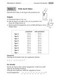 Mathematik, Geometrie, funktionaler Zusammenhang, Raum & Form, geometrische Eigenschaften, Achsensymmetrie, spiegelung