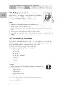 Mathematik, Zahlen & Operationen, Arithmetik, Algebra, Zahlentheorie