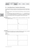 Mathematik, Funktion, lineare Funktionen, Stationenlernen