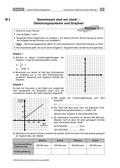 Mathematik, funktionaler Zusammenhang, Funktion, lineare Gleichungssysteme, lineare Funktionen, Graphen linearer Funktionen, sachrechnen, lösungsverfahren