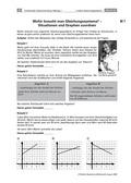 Mathematik, funktionaler Zusammenhang, lineare Gleichungssysteme, sachrechnen, sachaufgaben, lösungsverfahren, informationen aus texten