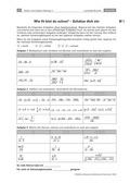 Mathematik, Grundrechenarten, Zahlen & Operationen, Multiplikation, Division, wurzeln, lernstand