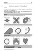 Mathematik, Raum & Form, Winkel, Fläche, kreisteile, umfangsberechnung, radius