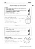 Mathematik, Raum & Form, Körperberechnung, Oberfläche, Körper, Volumen