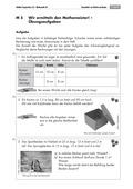 Mathematik, Raum & Form, Geometrie, Körperberechnung, Volumen bestimmen, Würfel, Quader, arbeitsblätter