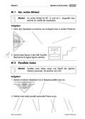 Mathematik, Winkel, Geometrie, Raum & Form, rechter Winkel, Geodreieck, zeichnen, vierecke