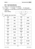 Mathematik, Zahlen & Operationen, Spiel, runden, Stellenwertsystem, Domino, alltag