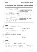 Mathematik, Grundrechenarten, Zahlen & Operationen, Addition, Multiplikation, Stellenwerttafel, zahlenraum bis 100