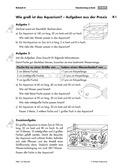 Mathematik, Raum & Form, Körperberechnung, Volumen bestimmen, sachrechnen, informationen aus texten, Argumentieren