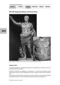 Geschichte, Epochen, Handlungs- und Kulturräume, Kompetenzen ausbilden, Antike, Europäische Geschichte, Historische Quellen analysieren und interpretieren, Rom, Bildanalyse