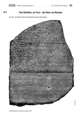 Geschichte, Epochen, Dimensionen historischer Erfahrung, Antike, Ur- und Frühgeschichte, Kulturgeschichte, Ägyptische Bevölkerung, Ägypten, Hieroglyphen