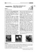 Biologie, Bau und Funktion von Biosystemen, Interaktion von Organismus und Umwelt, Tier, tierische lebensmittel