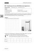 Physik, Elektrizitätslehre, Wärmelehre, Sensoren, Widerstände, Thermistor, Temperatur, Schaltung