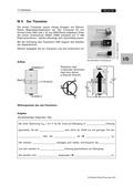 Physik, Elektrizitätslehre, Halbleiter, Transistor