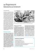 Biologie, kompetenzorientiert, Interaktion von Organismus und Umwelt, naturwissenschaftliche Denk- und Arbeitsweisen, Verhaltensbiologie, Experiment, regenwürmer, Forschung