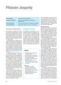 Biologie, Bau und Funktion von Biosystemen, Botanik, Struktur und Funktion, pflanzen