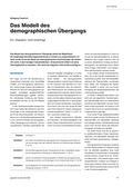 Erdkunde, Bevölkerung, Demographie, Bevölkerungsentwicklung, demographischer Übergang, Kritik, Modell