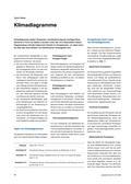 Erdkunde, Methodik, Kompetenzförderung, klimadiagramm