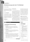 Physik, Kernphysik, radioaktiver Zerfall