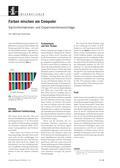 Physik, Optik, Wellen, Farbaddition, Farbe, schülerexperiment, alltagsphänomen