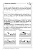 Sport_neu, Sekundarstufe I, Bewegen im Wasser/ Schwimmen