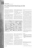 Chemie_neu, Sekundarstufe I, Sekundarstufe II, Elemente der Nebengruppen, Gruppe 12, Zink und seine Verbindungen, Industrie, Laugenreinigung, Elektrolyse, Schwefelsäure