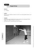 Sport, Ballsport, Volleyball, oberes Zuspiel, unteres Zuspiel, geräte
