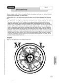 Religion-Ethik, Religion, Religion und Religiosität, Martin Luther und die Reformation, Lutherrose, Martin Luther