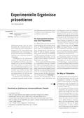 Chemie, Analytische Chemie, Allgemeine Chemie, Trennverfahren, Farben, Chromatografie, Farbstoffe, Chromatographie