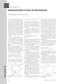 Chemie, Physikalische Chemie, Allgemeine Chemie, Thermodynamik, Chemische Reaktion, Enthalpie, Kinetik, Reaktionswärme