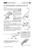 Erdkunde, Naturbedingungen und -ereignisse, Flora und Fauna, jurassic park, dinosauriern