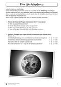 Religion-Ethik, Religion, Gott, Die Schöpfung, Schöpfungsgeschichte