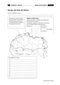 Erdkunde, Naturbedingungen und -ereignisse, Länderkunde, Landschaftsformen und -prozesse, Geologie, Kontinente, Afrika, Wüste, oase