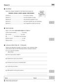 Französisch, Didaktik, Grammatik, Lernzielkontrollen, Adjektiv, Didaktik