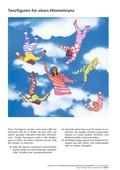 Kunst, Material, Papiere und Pappen, tanzfiguren, Niki de St. Phalle