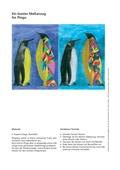 Kunst, künstlerische Strategien, Material, Bildhaft gestalten und ausdrücken, Farben und Stifte, inszenieren