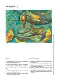 Kunst, Material, künstlerische Strategien, Farben und Stifte, Bildhaft gestalten und ausdrücken
