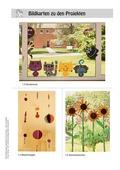 Kunst, Material, Papiere und Pappen, farbliches gestalten