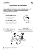 Französisch, Grammatik, Zeitformen, Plus-que-parfait, Wortschatzarbeit