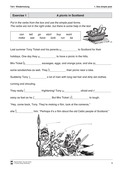 Englisch, Grammatik, Zeiten / tenses, Grammar, simple past, Simple Past