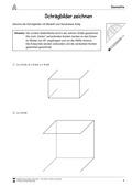 Mathematik, Raum & Form, Geometrie, zeichnen, arbeitsblätter