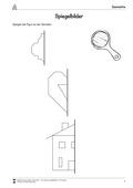 Mathematik, Raum & Form, Geometrie, zeichnen, spiegelung, arbeitsblätter