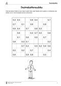 Mathematik, Zahlen & Operationen, Sodoku, Dezimalzahlen, Arithmetik, addition