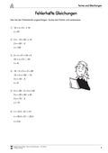 Mathematik, Zahlen & Operationen, Funktion, Algebra, lineare Gleichungen, Gleichungen
